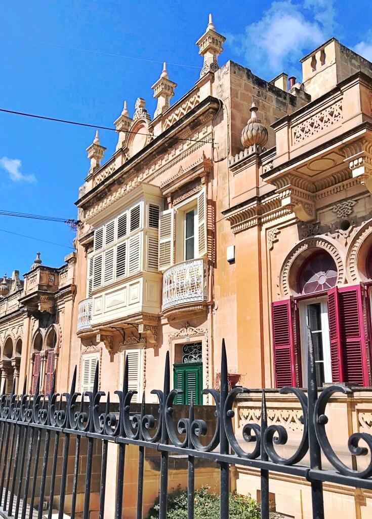 Styl budynków na Malcie.